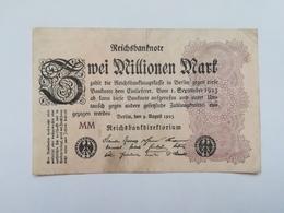 GERMANIA 2 MILLIONEN MARK 1923 - [ 3] 1918-1933 : Repubblica  Di Weimar