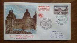 Premier Jour  FDC..   Chateau  De  Valencay  .. 1957 .. - Other