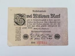 GERMANIA 2 MILLIONEN MARK 1923 - [ 3] 1918-1933 : República De Weimar