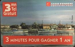 Paco \ FRANCIA \ Ft Prepaid Cards \ FR-PRE-COD-001 \ Caisse D'épargne Aquitaine - Nord \ Usata - Frankrijk