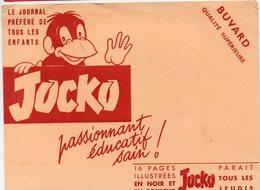 Buvard JOCKO  Journal Illustré Pour Enfants  (PPP10408) - Löschblätter, Heftumschläge