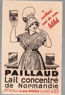 Buvard OAILLAUD Lait Concentré De Normandie  (PPP10409) - Alimentaire