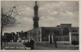 EGYPTE  PORT SAID  THE ABBAS MOSQUE                                                       EDIT LEHNERT&LANDROCK - Port-Saïd