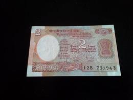 India 2 Rupees 1985 - 1990 - Inde