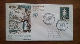 Premier Jour  FDC..   GEORGE  SAND .. 1957 .. PARIS .. La Mare  Au  Diable - Other
