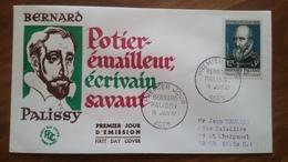 Premier Jour  FDC..  BERNARD  PALISSY .. 1957 .. - Other