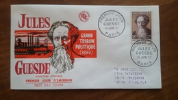 Premier Jour  FDC..  EXPOSITION PHILATELIQUE .. JULES GUESDE .. 1957 .. PARIS - Other