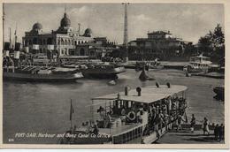 EGYPTE  PORT SAID  HARBOUR AND SUEZ CANAL                                                     EDIT LEHNERT&LANDROCK - Port-Saïd