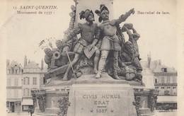 SAINT-QUENTIN: Monument De 1557 - Bas Relief De Face - Saint Quentin