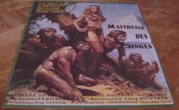 AFFICHE CINEMA ORIGINALE FILM MAITRESSE DES SINGES Barbara LEIGH Larry BUCHANAN EROTISME 1980 TBE - Affiches & Posters
