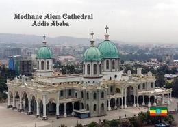 AK Äthiopien Ethiopia Addis Ababa Medhane Alem Cathedral New Postcard - Ethiopië