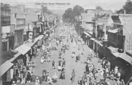 KISSA KAHANI BAZAR, PESHAWAR CITY ~ A VINTAGE POSTCARD #89919 - Pakistan