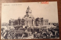 Bruxelles Palais De Justice 1907 - Monumenti, Edifici