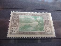 TIMBRE  COTE  D'IVOIRE     N  51      COTE  1,70  EUROS    NEUF  SANS  CHARNIÈRE - Ivory Coast (1892-1944)
