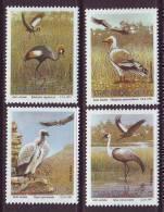 D101225 Transkei 1991 South Africa CRANES VULTURES Endangered Birds MNH Set- Afrique Du Sud Afrika RSA Sudafrika - Transkei