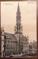 Bruxelles Hotel De Ville 1901 - Monumenti, Edifici