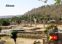 AK Äthiopien Ethiopia Axum Stelae Park UNESCO New Postcard - Ethiopie