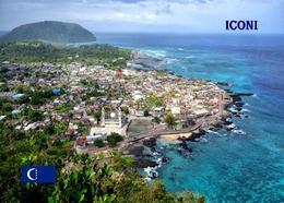 AK Komoren Comoros Grande Comore Iconi Aerial View Comores New Postcard - Comores