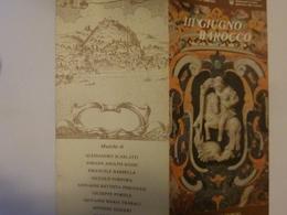 """Pieghevole """"IL GIUGNO BAROCCO Musica A Napoli Nel '600 E '700 Chiesa Di S. Giorgio Salerno 1991"""" - Programmi"""