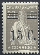 Portugal 1928-29 Ceres Surcharged In Black - Ceres Com Sobertaxa MLH - Post