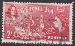Bermuda. 1953-62 QEII. 2½d Used. SG 139 - Bermuda