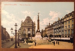 Bruxelles Place De Brouchere - Monumenti, Edifici