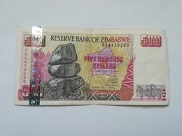 ZIMBABWE 500 DOLLARS 2001 - Zimbabwe