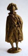 FIGURINE PUBLICITAIRE MOKAREX - L'EPOPEE NAPOLEONIENNE - MARECHAL BRUNE (2) - Figurines