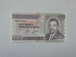 BURUNDI 100 AMFRANGA 2011 - Burundi