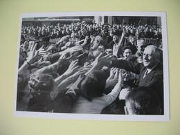 Carte Photo 1959  Charles De Gaulle à Montreuil-sur-Mer - Personnages