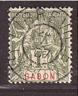 Colonies Groupe GABON 1fr Superbe Cachet Central 1907 - Gabun (1886-1936)