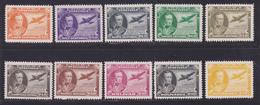 VENEZUELA AERIENS N°  202 à 211 ** MNH Neufs Sans Charnière, B/TB (L1254) Maréchal José De Sucre - 1944 - Venezuela