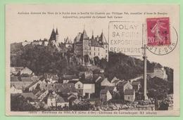 """DAGUIN - """"NOLAY SA FOIRE EXPOSITION SEPTEMBRE"""" - 1934 - Sur CP - - 1921-1960: Modern Period"""