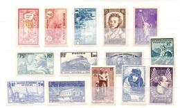 France Belle Petite Collection Neufs ** MNH 1900/1940. Bonnes Valeurs. TB. A Saisir! - France