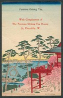 TAIWAN. C.1910. Color Nice Paper Advert Formosa Olong Tea Uncirculated Post Card. Fine. - Taiwan (Formose)