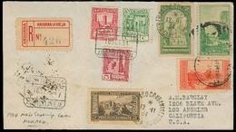 ANDORRA. 1934 (18 Sept). A La Vieja - USA. Sobre Certificado Franqueo Mutliple De USA Y Monaco. Transitos + Llegada Al D - Non Classés
