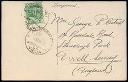 ANDORRA. 1936 (4 Marzo). A La Vieja - UK. TP. - Non Classés