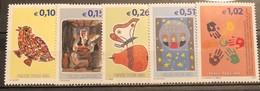 Kosovo, 2002, Mi: 11-15 (MNH) - Kosovo