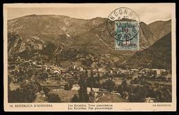 ANDORRA. 1931 (17 Oct). Of Francesa. TP Sin Circular Con Sello 1/2c Primera Emision. MB. - Non Classés
