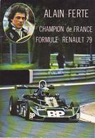 Cpa-auto-sport-alain Ferte-formule Renault - Voitures De Tourisme