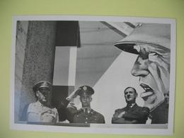 Carte Photo 1949  Charles De Gaulle Au Mémorial Patton à Tilly - Personnages