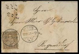SWITZERLAND. 1870 (10 March). Anssesirl Local - Zurich. 5c Cds. - Switzerland