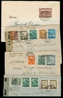AUSTRIA - XX. 1946 (6 Feb - 29 Oct). Linz - Switzerland 4 Fkd Env US Censorships. - Austria