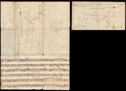 PORTUGAL - Stampless. 1810 (9 Feb). PENINSULAR WARS - ROYAL PORTUGUESE MAIL SERVICE. Sardoal - Eire / Ireland. EL Full T - Portugal