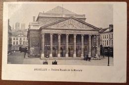 BruxellesTheatre Royale De La Monnaie 1906 - Monumenti, Edifici