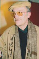 MICHEL DUCHAUSSOY  AUTOGRAPHE / AUTOGRAMM  In Person Signed Photo 10x15 Cm - Autógrafos