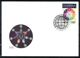 3333 D52 Slovenia 2019 FDC Science Redefinition International System Of Base Units - Slovénie
