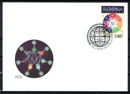 3333 D52 Slovenia 2019 FDC Science Redefinition International System Of Base Units - Wissenschaften