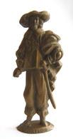 FIGURINE PUBLICITAIRE MOKAREX - COSTUMES MILITAIRES - - 3 MOUSQUETAIRES PORTHOS - Figurines