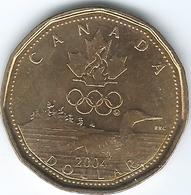 Canada - Elizabeth II - 2004 - 1 Dollar - Olympics 2006 Lucky Loonie - KM513 - Canada